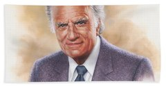 Billy Graham Evangelist Beach Towel