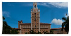 Biltmore Hotel Coral Gables Beach Sheet