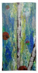 Birch - Lt. Green 4 Beach Towel