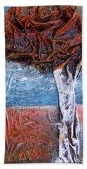Birch Tree Beach Towel