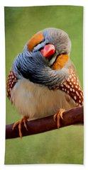 Bird Art - Change Your Opinions Beach Towel
