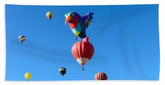 Bird Balloon Beach Sheet