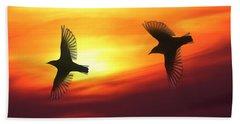 Bird Lovers Beach Sheet