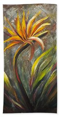 Bird Of Paradise 63 Beach Towel