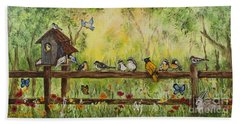 Bird Song Beach Towel