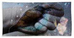 Birdie Paintress Beach Towel by Barbara Orenya