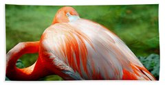 Bird's Eye View Beach Towel by Beverly Stapleton
