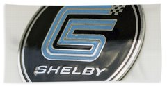 Birthday Car - Shelby Logo Beach Towel