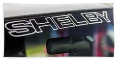 Birthday Car - Shelby Windshield Beach Towel
