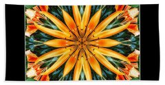 Birthday Lily For Erin Beach Towel by Nick Heap