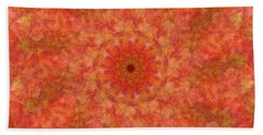 Birthing Mandala 17 Beach Sheet