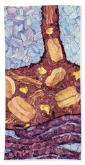 Beach Towel featuring the painting Biscuit Basket by James W Johnson