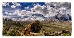 Bishop California Beach Towel