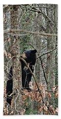 Black Bear Cub Beach Sheet