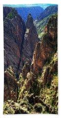 Black Canyon Of The Gunnison National Park I Beach Towel