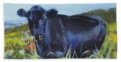 Cows Dartmoor Beach Towel