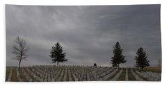 Black Hills Cemetery Beach Sheet