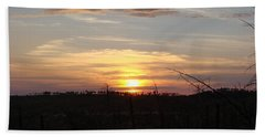 Beach Towel featuring the photograph Black Hills Sunset IIi by Cathy Anderson