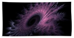 Black Hole Expanding Fractal Art Beach Sheet