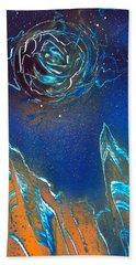 Black Hole Beach Towel
