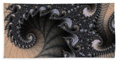 Black Sand Trap Beach Towel