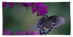 Black Swallowtail Beach Towel