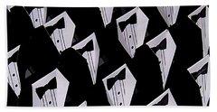 Black Tie Affair Beach Sheet