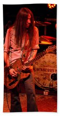 Blackberry Smoke Guitarist Charlie Starr Beach Towel