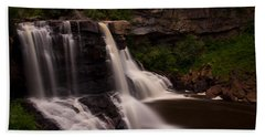 Blackwater Falls Beach Towel by Shane Holsclaw