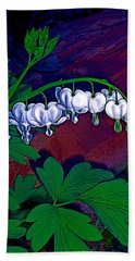 Bleeding Heart 1 Beach Towel