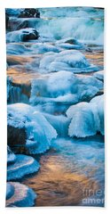 Blewett Pass Creek Beach Towel