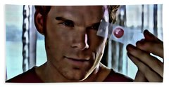 Blood Slide Dexter Beach Towel