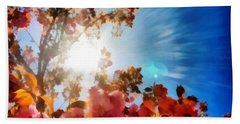 Blooming Sunlight Beach Towel