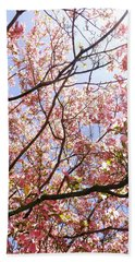 Blossoming Pink Beach Towel