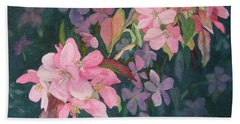 Blossoms For Sally Beach Towel