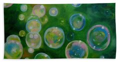 Blowing Bubbles Beach Towel