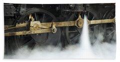 Blowing Of Steam Beach Towel