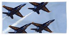 Blue Angels Over Colorado Beach Sheet