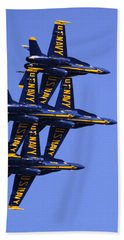 Blue Angels II Beach Sheet