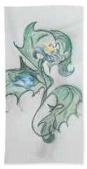 Blue Blossom 2 Beach Sheet