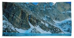Blue Chasm Beach Towel by Eric Glaser