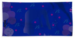 Blue Dance - Limited Edition  Of 30 Beach Sheet