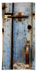 Blue Door Weathered To Perfection Beach Sheet