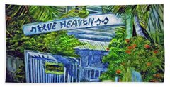 Blue Heaven Key West Beach Towel