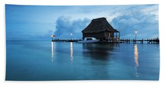 Blue Hour Landscape Beach Sheet