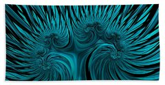 Blue Hydra Beach Towel