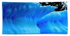 Beach Sheet featuring the photograph Blue Iceberg by Amanda Stadther
