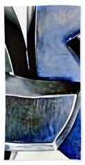 Blue Iron Beach Towel