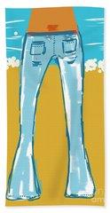 Blue Jean Summer Beach Sheet