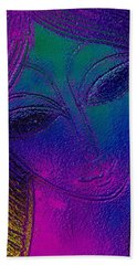 Blue Lady Beach Towel